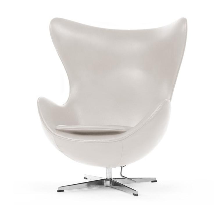 Arne Jacobsen Egg Chair Tweedehands.Jacobsen Lounge Stoel Egg Chair Leder Design Lounge Stoel
