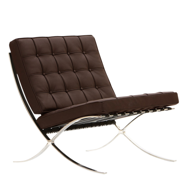 Rohe lounge chair barcelona pavillion chair design lounge for Design chair shop