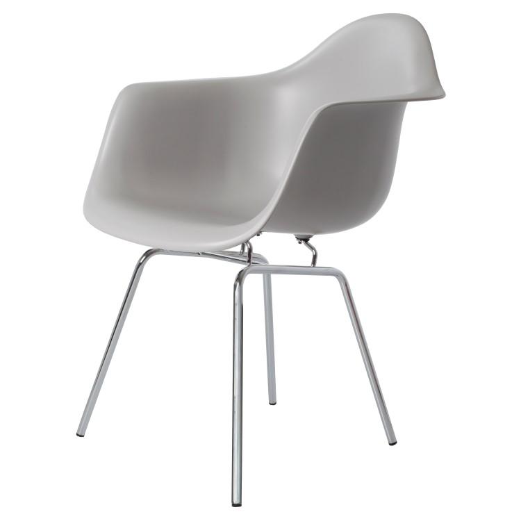 Charles Eames,eetkamerstoel DAX PP wit