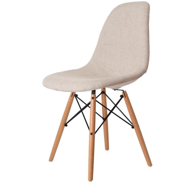 charles eames esszimmerstuhl ddsw gepolstert design. Black Bedroom Furniture Sets. Home Design Ideas