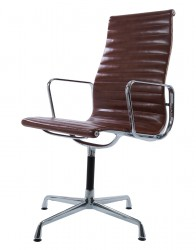 Eames Conference chair EA109 leather antique