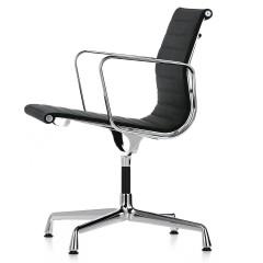 silla de conferencia EA108 Hopsack Hopsack (Tejida) Negro logo