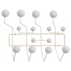 Eames style pinne Hang it all vit logo