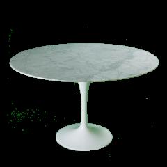 Eero Saarinen style Mesa de comedor Tulip Table Mármol 120cm logo