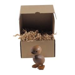 houten pop Eendje naturel logo