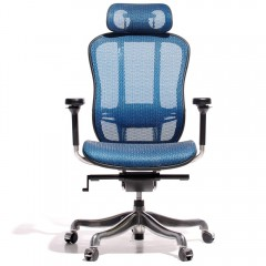 game chair Aaron mesh netweave logo
