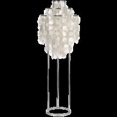 vloerlamp Shell style lamp parelmoer logo
