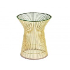 bijzettafel Wire tafel logo