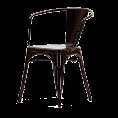 Matsal stol Tolix uteplats stol logo