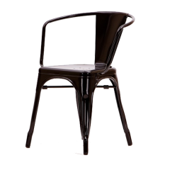 eetkamerstoel Tolix style terrasstoel logo