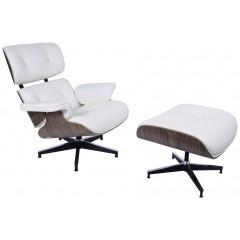 liegestuhl mit Hocker Lounge EA670 XL logo