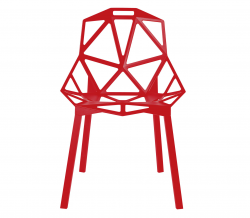 One Chair red