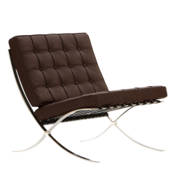Rohe Barcelona chair brown