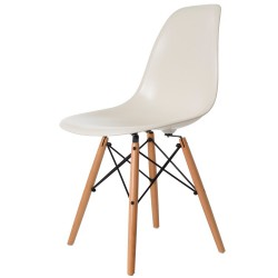 Eames DSW ABS Cream