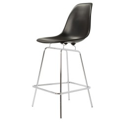 Eames Style DSX Stool PP black