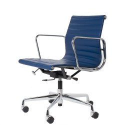 Eames officechair EA117 leather blue