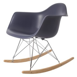Eames rocking chair RAR PP Dark Grey