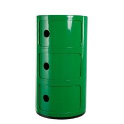 Componibili 3 door dark green
