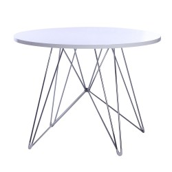 Eames CTR dining table white