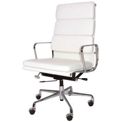 Eames Officechair EA219 leather white