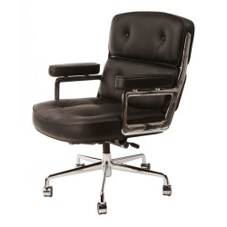Eames officechair ES104 leather black