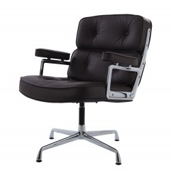 Eames conference chair ES108 leather brown