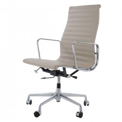 Eames Officechair EA119 leather grey