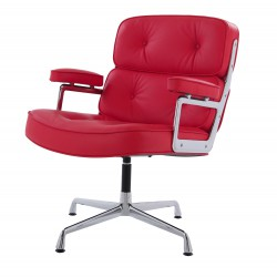 Eames conference chair ES108 leather red