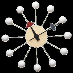 George Nelson Ball Clock white