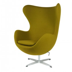 Jacobsen Egg chair cashmere olive green 15