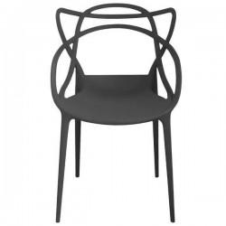 Snake chair black