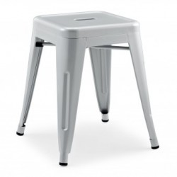 Xavier Pauchard Tolix stool 45cm matt grey