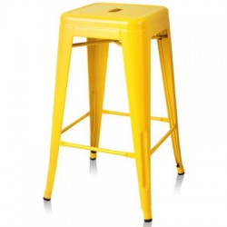 Xavier Pauchard TOLIX Stool 77cm Yellow