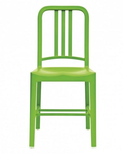 Philippe Starck Navy terrace chair PP green