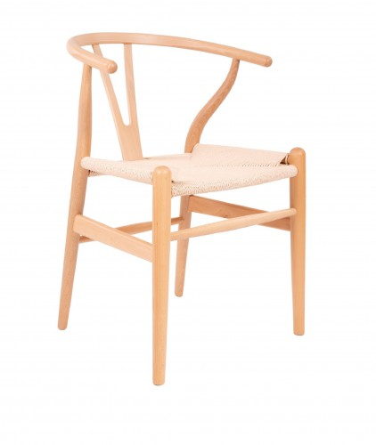 Wegner style Y-chair dining chair