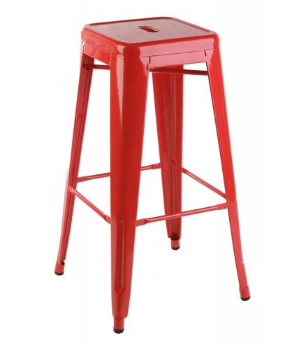Xavier Pauchard Bar Stool 77cm Red