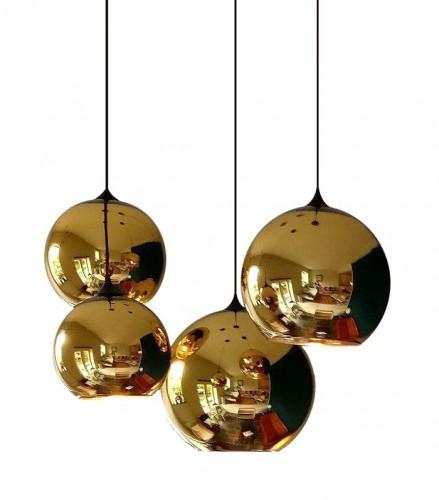 Copper pendant light
