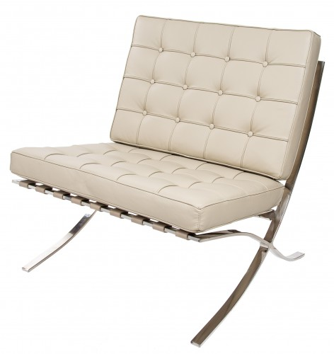 Rohe Barcelona Pavillion lounge stol