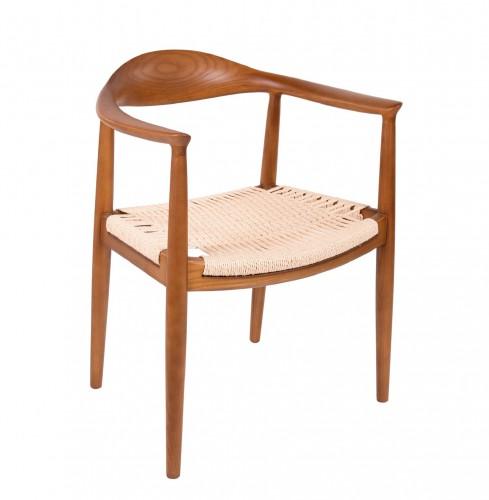 Hans Wegner Kennedy dining chair Walnut-natural cord