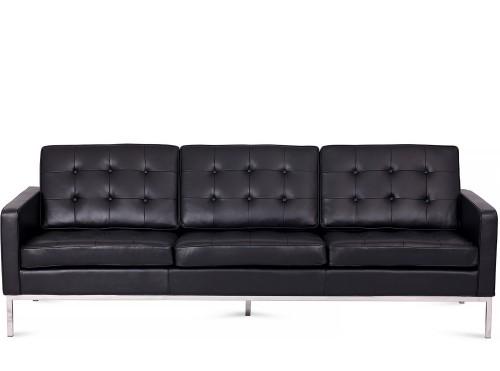 Rohe Florence 3 Seat Sofa black
