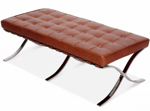 Rohe Barcelona Pavillion Bench cognac