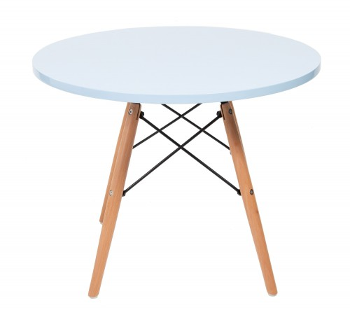 Eames CTW children table round blue