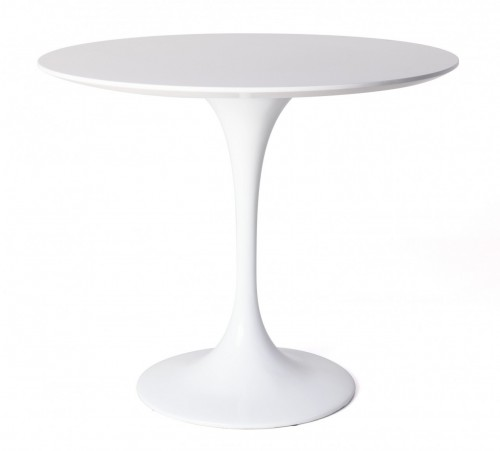 Eero Saarinen Tulip Table 80cm matt white