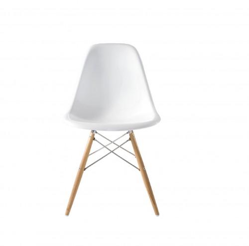 Eames DSW fibreglass white