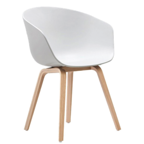 AAC chair pp white