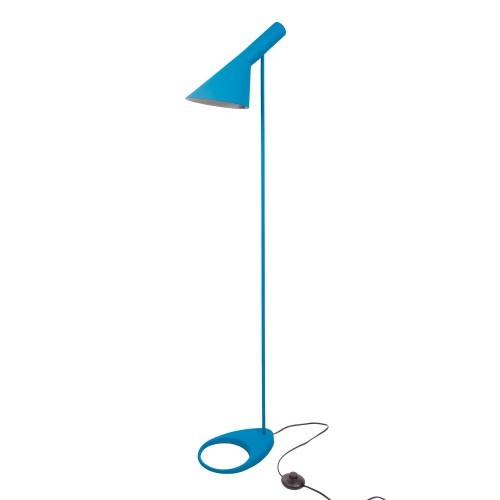 Arne Jacobsen AJ Floor Lamp dark blue