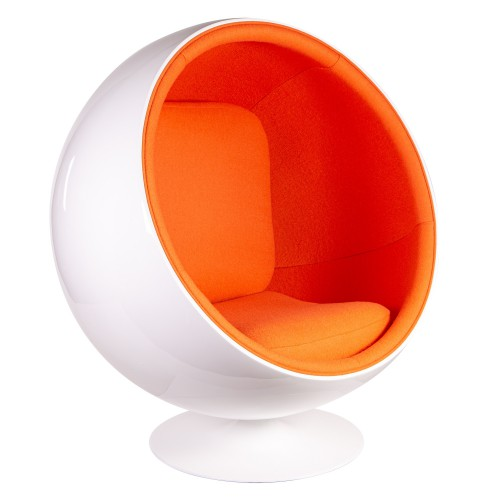 Eero Aarnio Ball Chair orange