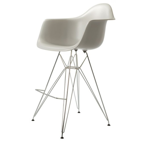 Eames DAR Stool PP Light Grey