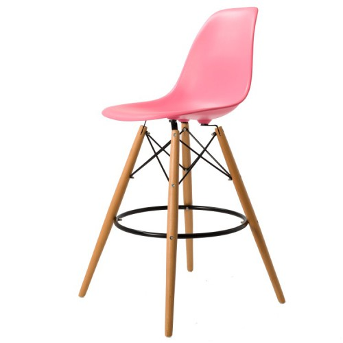 Eames DSW Stool PP Light Pink