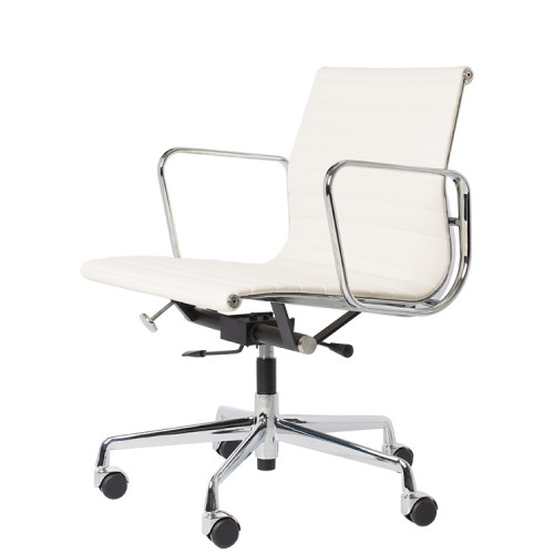 Eames officechair EA117 leather white